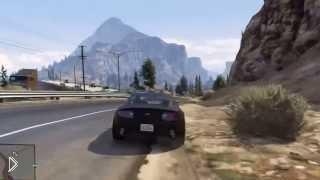 Смотреть онлайн Лучшие трюки на автомобиле в GTA 5