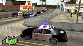 Приколы в GTA San Andreas– игра за «копа» - Видео онлайн