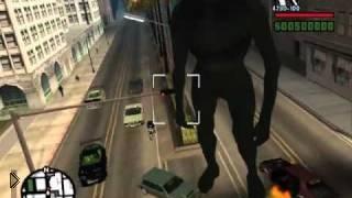 Смотреть онлайн Мод для GTA San Andreas – КИНГ-КОНГ