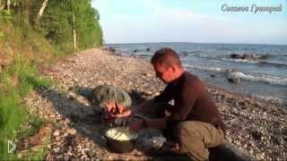 Готовим хлеб из минимума продуктов на природе - Видео онлайн