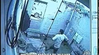 Смотреть онлайн Мужчина застрелил бывшую жену в публичном месте