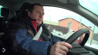 Безопасная дистанция между автомобилями зимой - Видео онлайн