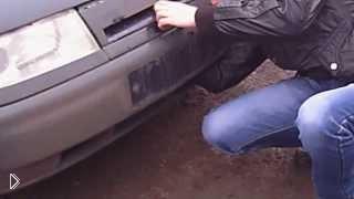 Смотреть онлайн Как открыть капот на ВАЗ 2110 без ключа