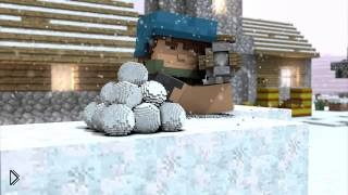 Смотреть онлайн Мультик про Майнкрафт – зимние каникулы