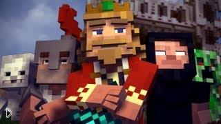 Смотреть онлайн Музыкальная пародия в игре Майнкрафт «Fallen Kingdom»