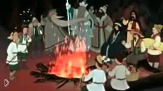 Смотреть онлайн Мультфильм «Двенадцать месяцев», 1956
