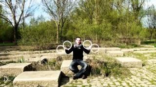 Смотреть онлайн Красивая оптическая иллюзия с четырьмя кольцами