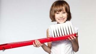 Смотреть онлайн Как заставить ребёнка чистить зубы при помощи картинок