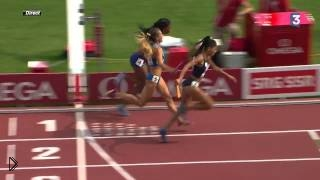 Смотреть онлайн Бегунья вырвала победу у фаворитки забега на ЧЕ 2014