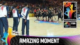 Новозеландский танец Хака на ЧМ по баскетболу 2014 - Видео онлайн