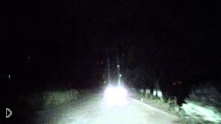 Видеорегистратор ночью застукал парочку в кустах - Видео онлайн