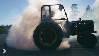 Смотреть онлайн Гонщики на тракторе