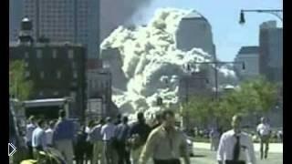 Смотреть онлайн Теракт 11 сентября 2001 г. - как рушатся башни близнецы
