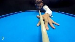 Смотреть онлайн Потрясающие бильярдные трюки: бильярд 80 уровня