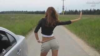 Смотреть онлайн Подборка крутых танцев возле и на машинах