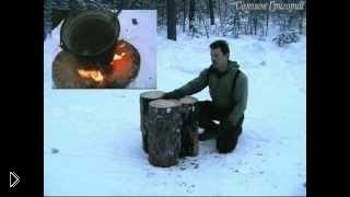 Какие бывают виды костров: финская свеча - Видео онлайн
