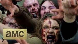 Смотреть онлайн Розыгрыш с ходячими мертвецами: зомби под ногами