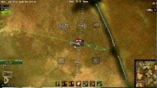 Хитрости артиллерийской стрельбы в World of Tanks - Видео онлайн