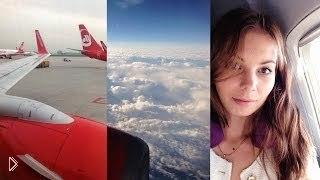 Смотреть онлайн Как не бояться полетов в самолете, советы
