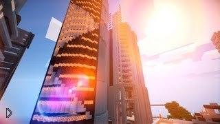 Смотреть онлайн Обзор потрясающих городов Майнкрафт от Твинкл