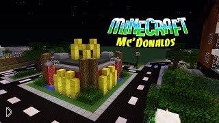 Обзор мода для майнкрафта «Макдональдс» - Видео онлайн