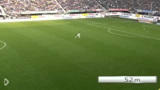 Шикарный гол на 83 метра - Видео онлайн