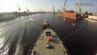 Смотреть онлайн Ускоренная съемка с крейсера