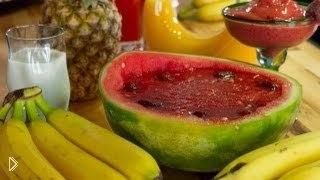 Смотреть онлайн Витаминные десерты для детей, напитки в блендере