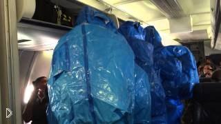 Смотреть онлайн Проверка самолета на наличие вируса Эбола