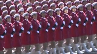 Смотреть онлайн Парад вооруженных сил Китая