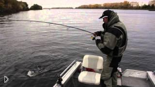 Смотреть онлайн Поиск рыбных мест осенью