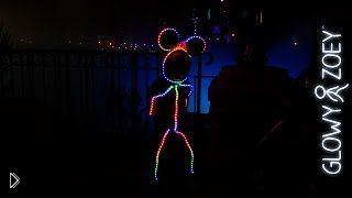 Светящийся костюм для маленького ребенка - Видео онлайн