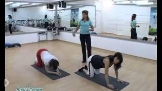Смотреть онлайн Простой комплекс упражнений для беременных