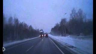 Смотреть онлайн Дтп в Ярославле: УАЗ вылетел на встречку