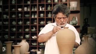 Смотреть онлайн Искусство лепки посуды из глины