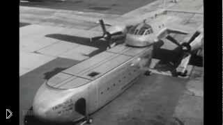 Смотреть онлайн Самолет-трансформер Fairchild XC-120 1950 года