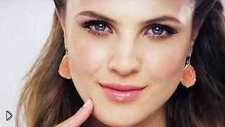 Смотреть онлайн Простой повседневный макияж в домашних условиях