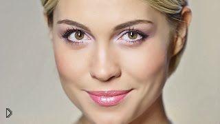 Смотреть онлайн Романтический нежный макияж в розовых тонах