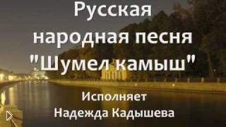 Смотреть онлайн Караоке Надежда Кадышева - Шумел камыш