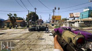 Смотреть онлайн Grand Theft Auto 5: подборка лучших моментов