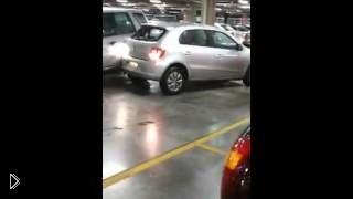 Смотреть онлайн Ярость на парковке магазина