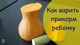 Смотреть онлайн Как приготовить пюре из тыквы и кабачка для ребенка