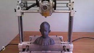 Смотреть онлайн 3D принтеры: новое слово в мире техники