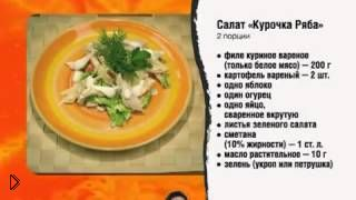 Полезные блюда для тех, кто на диете - Видео онлайн