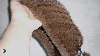 Вязание повязки из меха своими руками - Видео онлайн