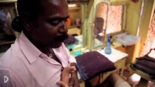 Смотреть онлайн Как работают парикмахеры в Индии
