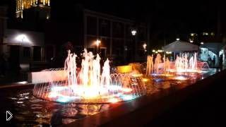 Смотреть онлайн Красивейшие фонтаны в Кампече, Мексика