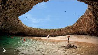 Смотреть онлайн Скрытый пляж Мексики: Islas Marietas