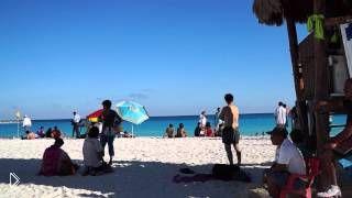 Коко-Бонго и пляж Форум в Мексике - Видео онлайн