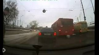Смотреть онлайн Водитель был наказан за подставу
